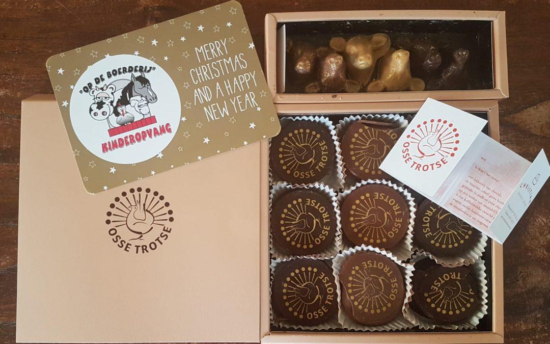 Superlekkere chocolade lekkernijen cadeau
